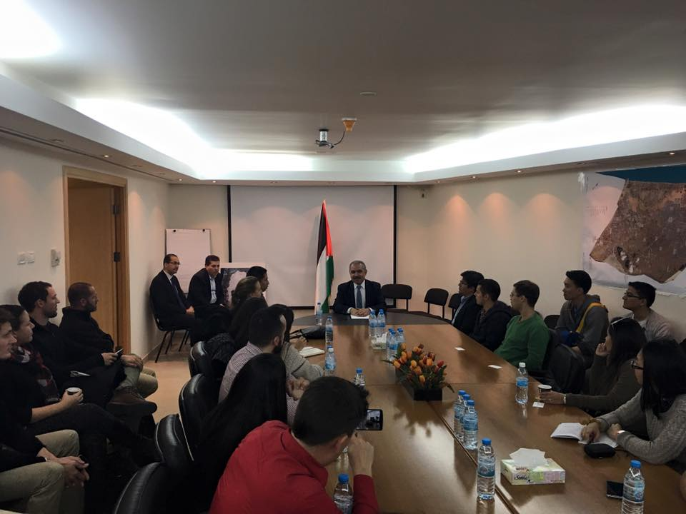 Meeting with Dr. Mohammad Shtayyeh