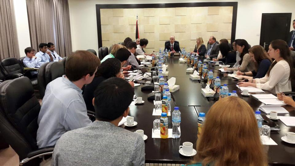 Meeting with Palestinian Prime Minister HE Dr. Rami Hamdallah