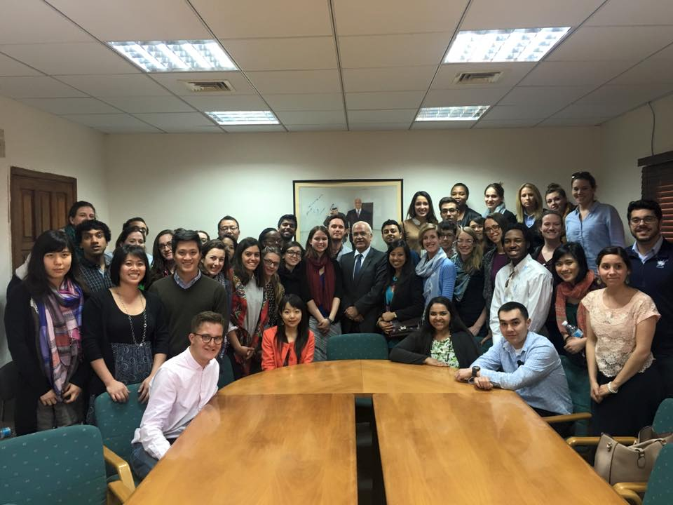 Meeting with Dr. Saeb Erekat