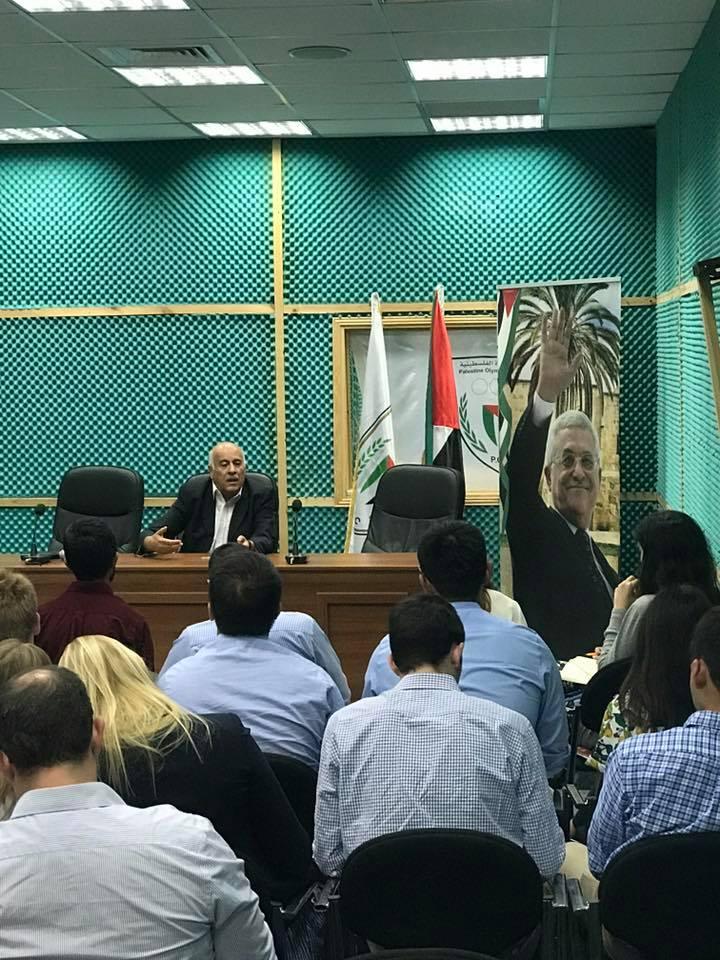Meeting with Major General Jibril Rajoub