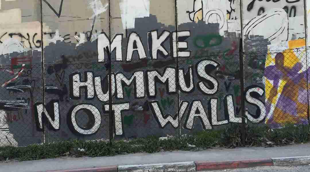 Bethlehem Tour - Banksy Graffiti