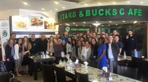 West Bank's Stars and Bucks Coffee Shop