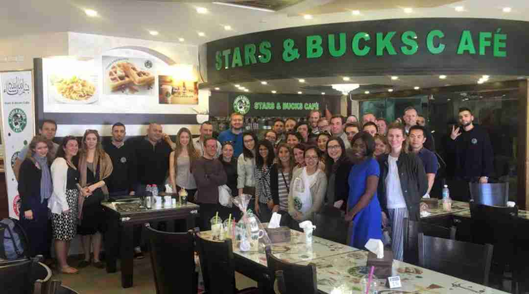 West Bank's Stars and Bucks Coffee Shop
