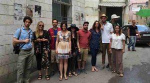 Ramallaah Tour - Graduate students from Tufts University visiting Rawabi, the beautiful Palestinian City.