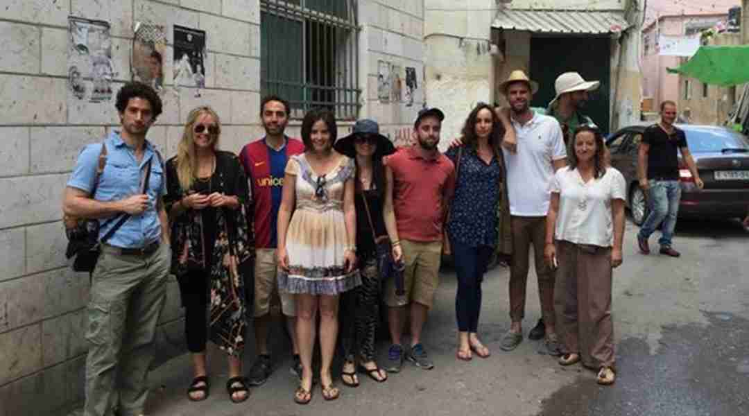 Ramallaah Tour - Graduate students from Tufts University visiting Rawabi, the beautiful Palestinian City.
