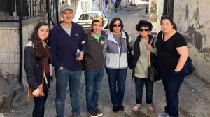 Ramallah and Bethlehem Tour - with the Silverman family visiting from Boston, Massachusetts.