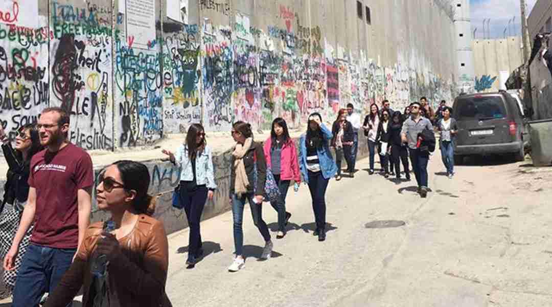 Bethlehem Tour - Separation Barrier