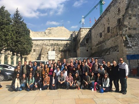 West Bank Tour with students from the Harris School of Public Policy at the University of Chicago